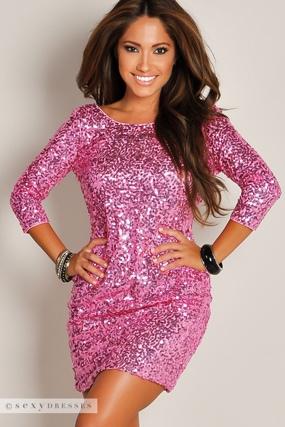 Sequin Party Dresses 34