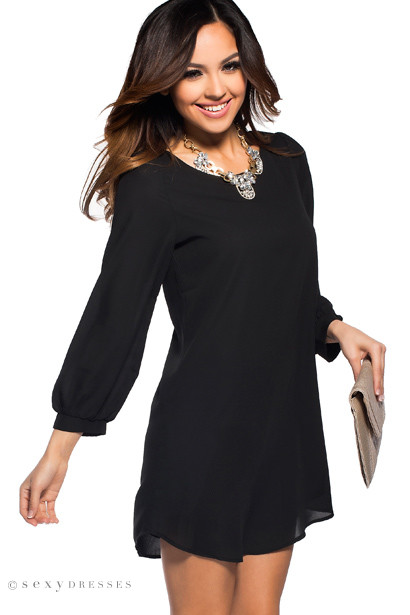 Day delivery black bodycon sleeve dresses flowy long and dresses store