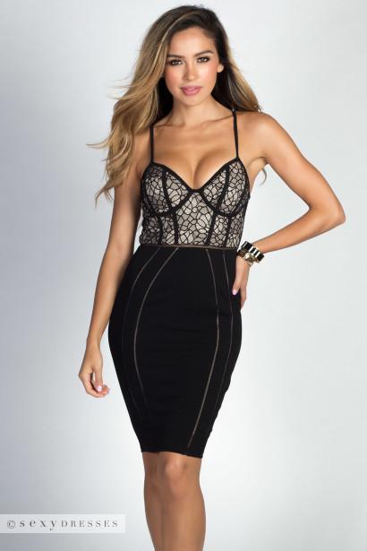 Bustier Cocktail Dress