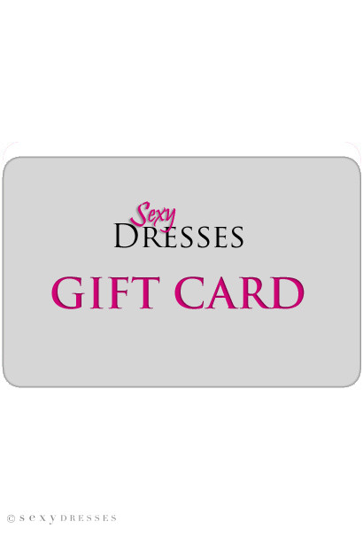 Sexy Dresses Gift Card