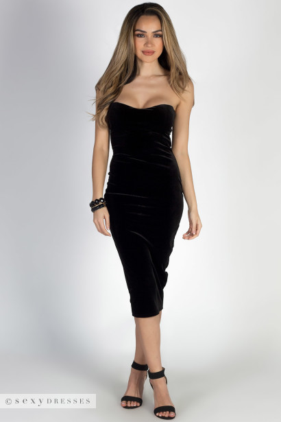 Sweetheart Black Dress