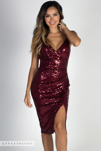 Cocktail Sequin Dress
