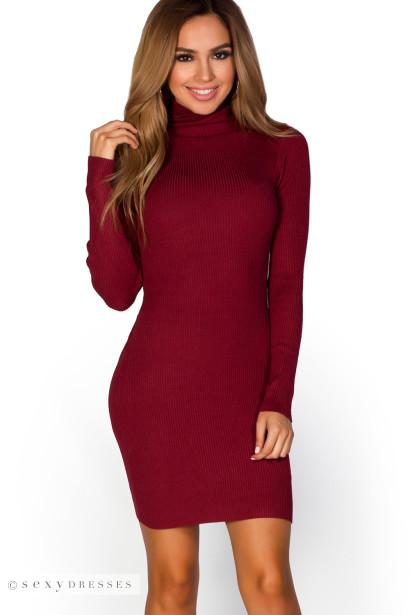 Red long dress cheap 223