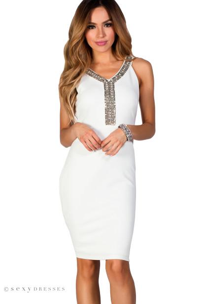 Rhinestone Cocktail Dresses