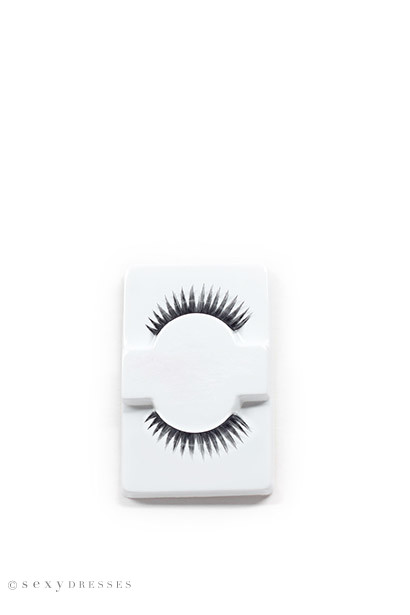 """Bold and Beautiful"" Black Extra Thick False Eyelashes"