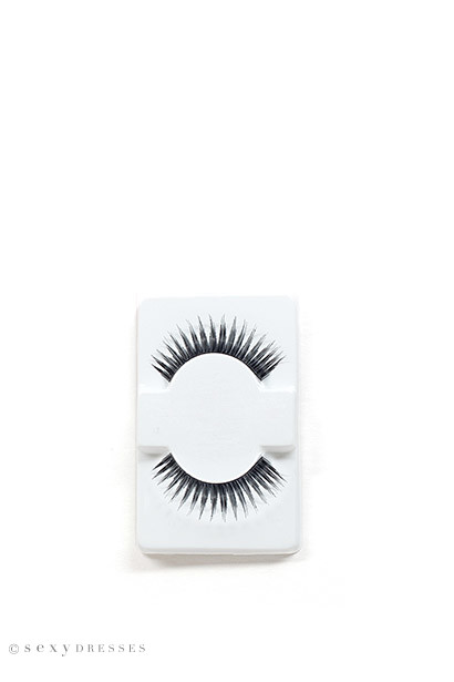 """Divine Diva"" Black Extra Thick Long False Eyelashes"