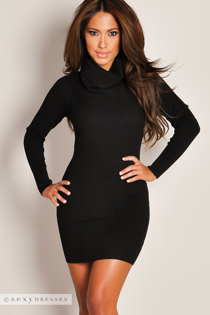 Keep warm in style with boohoo's range of sweater dresses! Choose from oversized, long & more knitted dresses in 15 colors, incl. black, white, red, pink! Tall Soft Knit Roll Neck Jumper Dress $ V Neck Loose Fit Dress $ Full Cable Knit Jumper Dress.