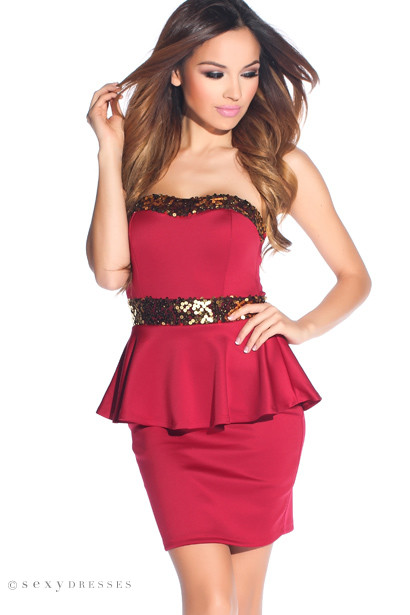 Find great deals on eBay for sequin peplum top. Shop with confidence.