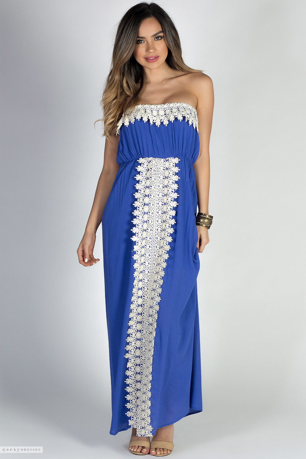 Find great deals on eBay for strapless lace maxi dress. Shop with confidence.