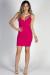 """""""Cover Girl"""" Fuchsia Sexy Strappy Bodycon Mini Dress"""