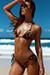 Laguna Velvet Leopard & Black Classic Bikini Top & Venice Velvet Leopard & Black Mid Rise Classic Bikini Bottoms