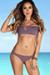 Dusty Lilac Plumeria Bikini Top & Dusty Lilac Wildflower Bikini Bottoms