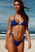 Laguna Royal Blue Classic Bikini Top & Venice Royal Blue Mid Rise Classic Bikini Bottom