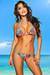 Belize Reversible Swimwear Aqua & Wild Tropical Print Sexy Single Rise Bikini