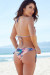 Watercolor Palm Tree Print Triangle Top & Watercolor Palm Tree Print Classic Scrunch Bun® Bikini