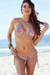 Surfside Sexy 70s Paisley Print Triangle Top Single Rise Scrunch Bun® Bikini