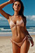 Laguna Solid Blush Triangle Bikini Top & Classic Scrunch Bottom Swimsuit