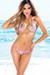 Belize Reversible Neon Pink & Pink Party Leopard Print Sexy Single Rise Bikini