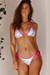 Pink Party Sequin Triangle Top & Pink Party Sequin Classic Scrunch Bottom