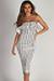 """Perfect Day"" White Ruffle Tube Dress"