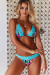 Tropical & Mint Edge Lace Triangle Top & Tropical & Mint Lace Classic Band Bottom