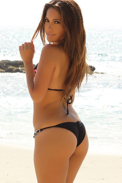183aaa15747e2 Bikini On a Chain™ Laguna Black Bikini Top   Venice Black Bikini Bottom