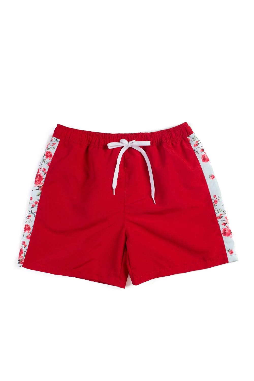 ecd134dc64ebf English Rose Red Men s Swim Shorts