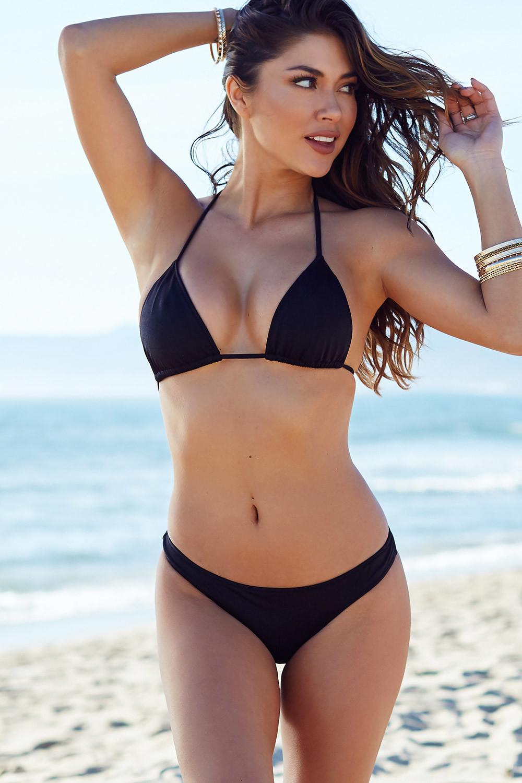 bikini cut Black