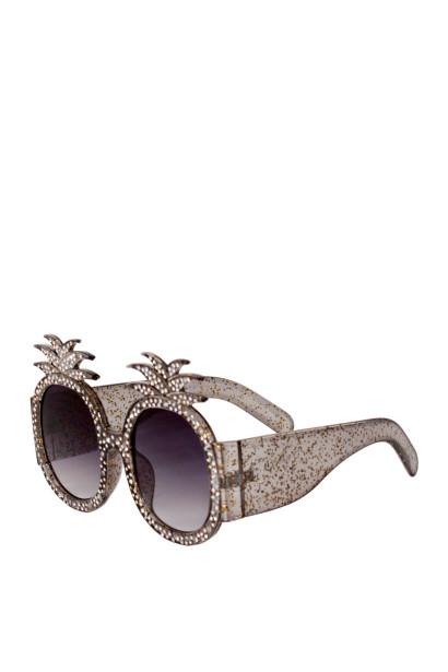 Summer Lovin' Black Pineapple Sunglasses