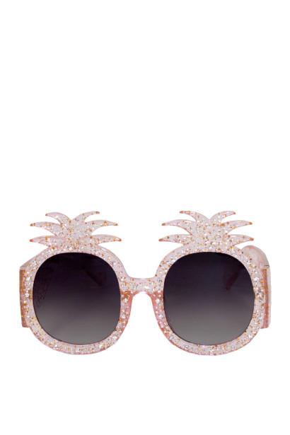 Summer Lovin' Pink Pineapple Sunglasses