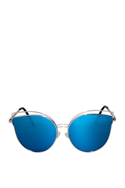 Celeste Blue Cat-Eye Sunglasses