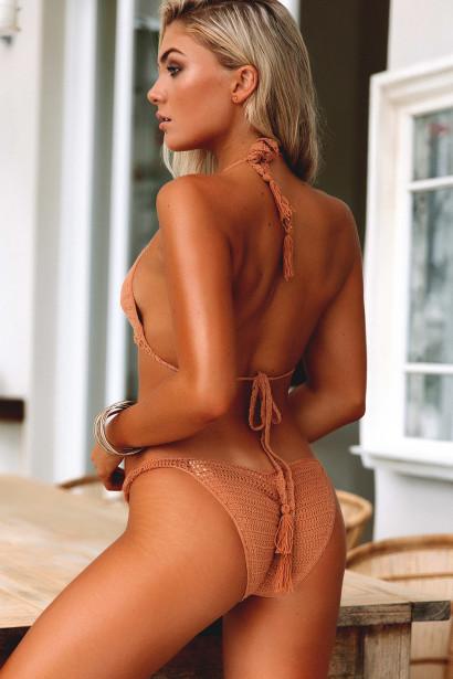 Hyacinth Tan Bikini Top & Rosemary Tan Bikini Bottom