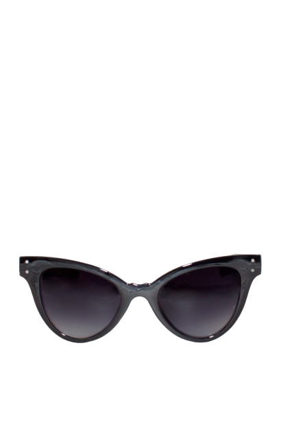 Playa Vista Black Cat-Eye Sunglasses
