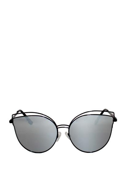 Celeste Black Cat-Eye Sunglasses