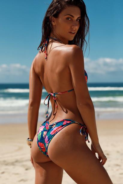 Laguna Royal Paradise Classic Bikini Top & Panama Royal Paradise Classic Bikini Bottoms