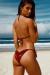 Laguna Wine Velvet Classic Bikini Top & Panama Wine Velvet Classic Bikini Bottom