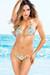 Belize Reversible Swimwear Neon Orange & Green Party Leopard Print Sexy Single Rise Bikini