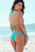 Acapulco Solid Jade Cheeky Scrunch Bun® Bottoms & Triangle Top Bikini