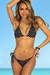Laguna Black Polka Dot Classic Bikini Top & Panama Black Polka Dot Classic Bikini Bottom