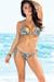 Honolulu Mint Leopard Triangle Top & Single Rise Scrunch Bun® Sexy Print Bikini