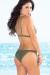 Olive Tiger Lily Bikini Top & Olive Tiger Lily Bikini Bottom
