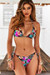 Tropical Triangle Top & Tropical Full Coverage Scrunch Bottom