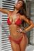 Laguna Red Polka Dot Classic Bikini Top & Panama Red Polka Dot Classic Bikini Bottom