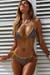 Laguna Mauve Snake & Gold Classic Bikini Top & Panama Mauve Snake & Gold Classic Bikini Bottom