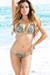 Tahiti Reversible Mint & Mint Leopard Print Sexy Micro Bikini Swimsuit