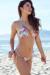 Palm Beach Sexy Rainbow Tropical Print Triangle Top Thong String Bikini