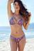 Ibiza Brazilian Cut Bohemian Print Triangle Top Sexy Thong Bikini