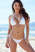 Acapulco White Cheeky Micro Scrunch Bun® Bottoms & Triangle Top Bikini