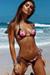 Sexy Rose Garden Print Triangle Top & Classic Scrunch Bun® Bikini