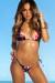 Rose Garden Classic Bikini Top & Rose Garden G-String Thong Bikini Bottom